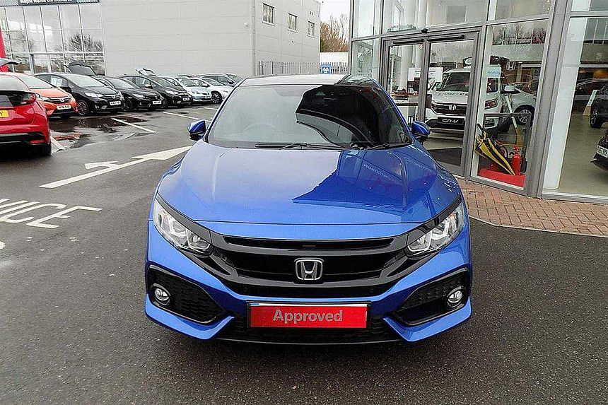 Honda Civic 1.0 VTEC TURBO EX 5-Door 17' Alloys